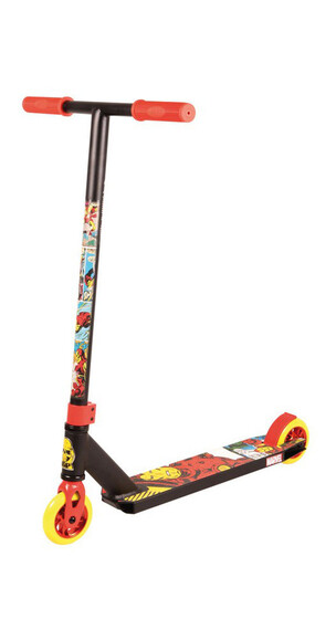 MADD GEAR Extreme Marvel - Trottinette Enfant - Iron Man rouge/Multicolore